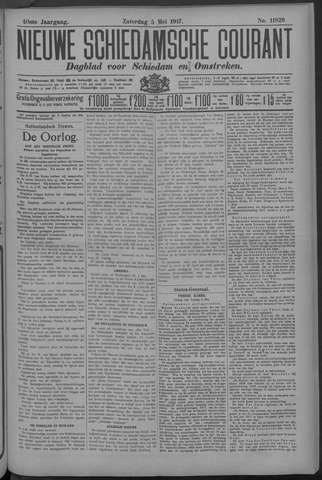 Nieuwe Schiedamsche Courant 1917-05-05