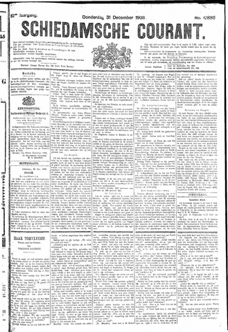Schiedamsche Courant 1908-12-31