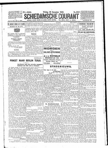Schiedamsche Courant 1933-12-29