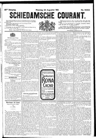 Schiedamsche Courant 1912-08-26