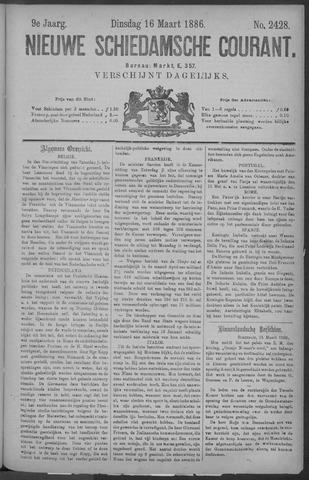 Nieuwe Schiedamsche Courant 1886-03-16