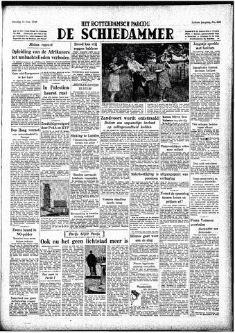 Rotterdamsch Parool / De Schiedammer 1948-06-15