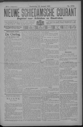 Nieuwe Schiedamsche Courant 1917-01-25