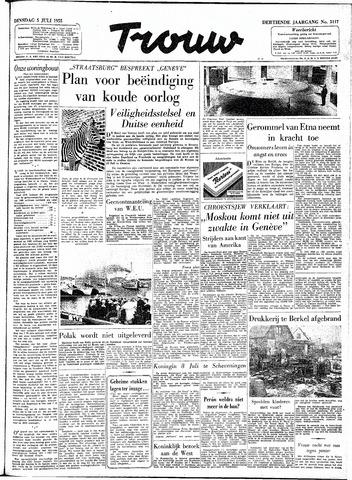 Trouw / De Rotterdammer 1955-07-05