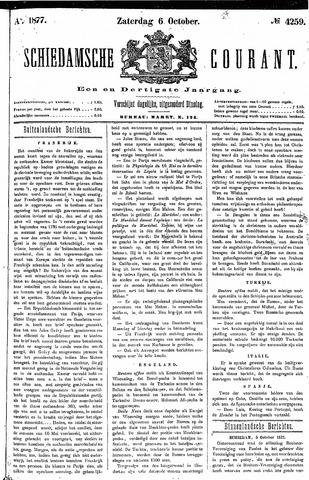 Schiedamsche Courant 1877-10-06