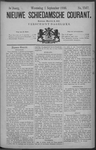 Nieuwe Schiedamsche Courant 1886-09-01