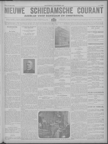 Nieuwe Schiedamsche Courant 1929-11-07