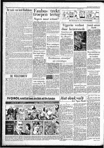 Rotterdamsch Parool / De Schiedammer 1957-09-21
