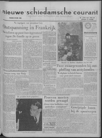 Nieuwe Schiedamsche Courant 1958-05-30
