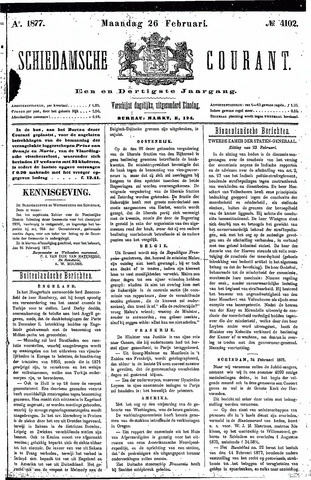 Schiedamsche Courant 1877-02-26