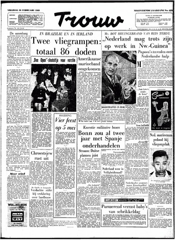 Trouw / De Rotterdammer 1960-02-26