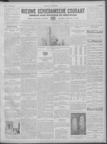 Nieuwe Schiedamsche Courant 1933-05-15