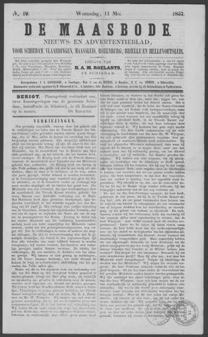 De Maasbode 1853-05-11