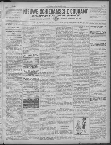 Nieuwe Schiedamsche Courant 1932-11-19