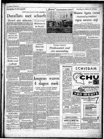 Rotterdamsch Parool / De Schiedammer 1963-05-11
