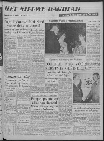 Nieuwe Schiedamsche Courant 1962-02-05