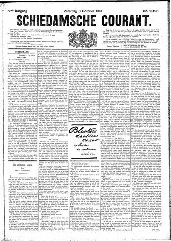 Schiedamsche Courant 1910-10-08