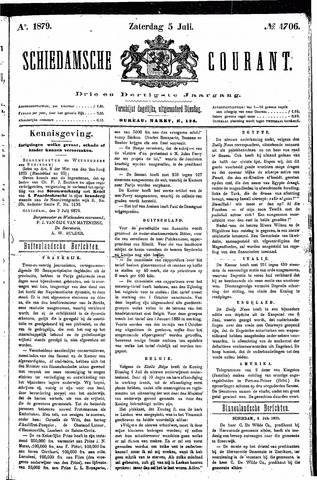 Schiedamsche Courant 1879-07-05