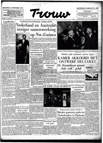 Trouw / De Rotterdammer 1957-11-06