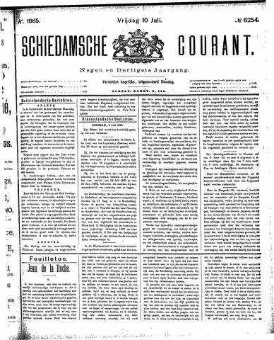 Schiedamsche Courant 1885-07-10