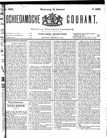 Schiedamsche Courant 1883-01-15