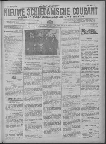 Nieuwe Schiedamsche Courant 1929-01-07