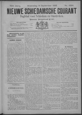 Nieuwe Schiedamsche Courant 1892-09-14