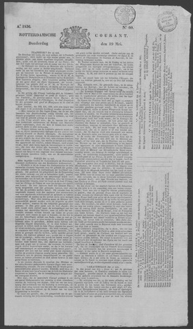 Rotterdamse Courant 1836-05-19