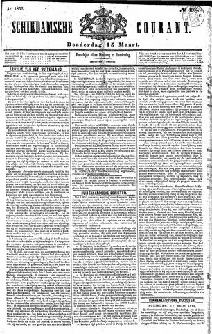 Schiedamsche Courant 1862-03-13