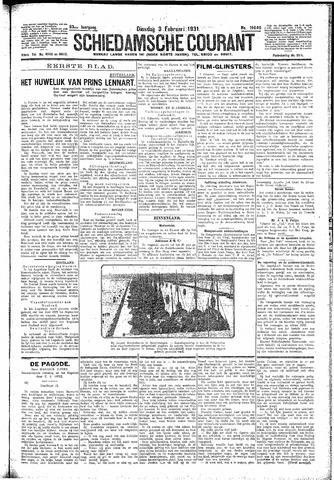 Schiedamsche Courant 1931-02-03