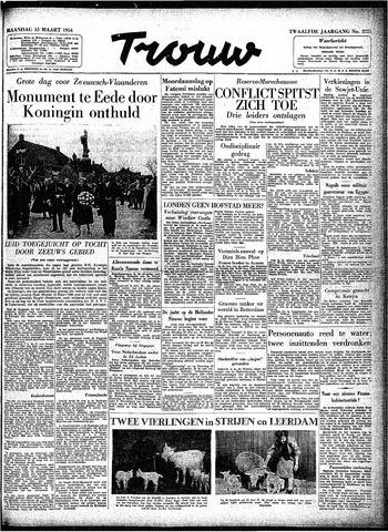 Trouw / De Rotterdammer 1954-03-15