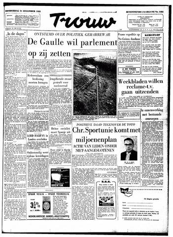 Trouw / De Rotterdammer 1959-12-24