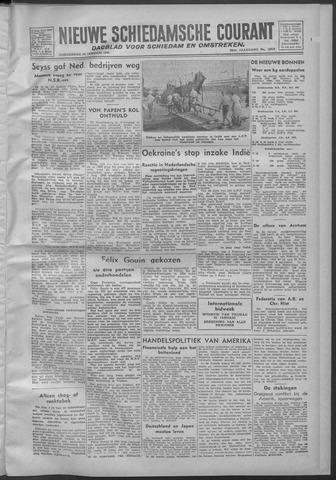 Nieuwe Schiedamsche Courant 1946-01-24