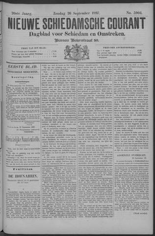 Nieuwe Schiedamsche Courant 1897-09-26