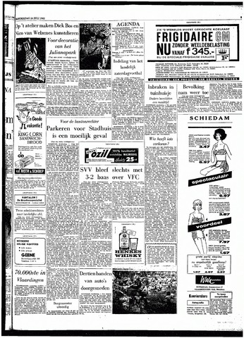 Rotterdamsch Parool / De Schiedammer 1962-07-26