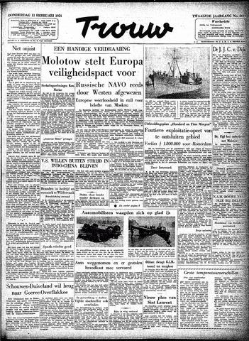 Trouw / De Rotterdammer 1954-02-11