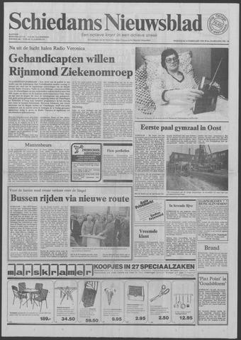 Schiedams Nieuwsblad 1981-02-04