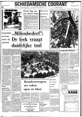 Rotterdamsch Nieuwsblad / Schiedamsche Courant / Rotterdams Dagblad / Waterweg / Algemeen Dagblad 1974-08-03