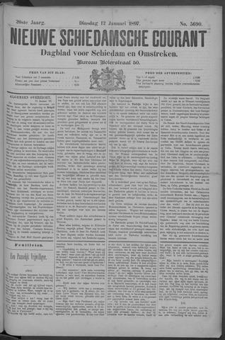Nieuwe Schiedamsche Courant 1897-01-12