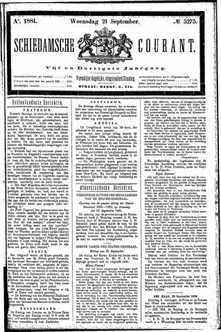 Schiedamsche Courant 1881-09-21