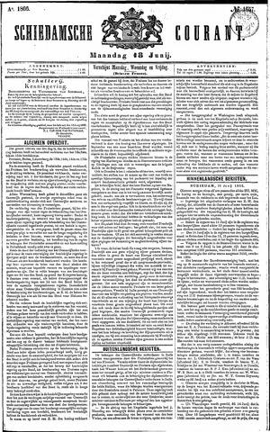Schiedamsche Courant 1866-06-18