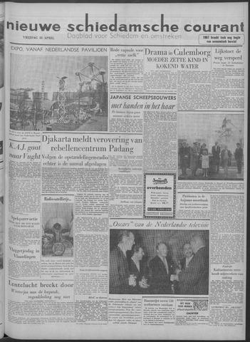 Nieuwe Schiedamsche Courant 1958-04-18