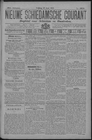 Nieuwe Schiedamsche Courant 1913-06-27