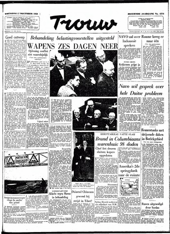 Trouw / De Rotterdammer 1958-12-17