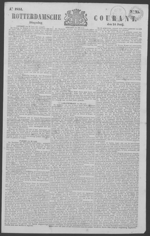 Rotterdamse Courant 1851-06-24