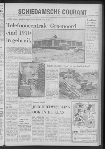 Rotterdamsch Nieuwsblad / Schiedamsche Courant / Rotterdams Dagblad / Waterweg / Algemeen Dagblad 1970-08-05