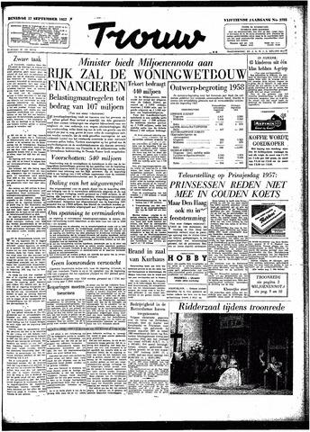 Trouw / De Rotterdammer 1957-09-17