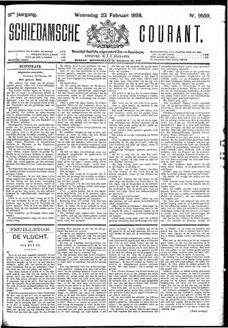 Schiedamsche Courant 1898-02-23