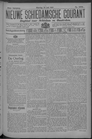 Nieuwe Schiedamsche Courant 1917-07-24