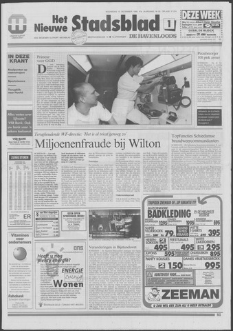 Het Nieuwe Stadsblad 1995-12-13